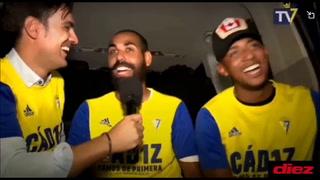 Antony 'Choco' Lozano confirma que se queda en el Cádiz tres años más