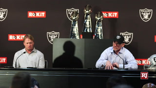 NFL Draft 2019 First Round Jon Gruden and Mike Mayock Presser Highlights – VIDEO