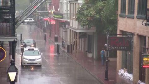 El huracán Zeta arremete contra la costa de Luisiana