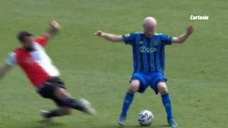 La escalofriante fractura que sufrió Lucas Pratto con el Feyenoord