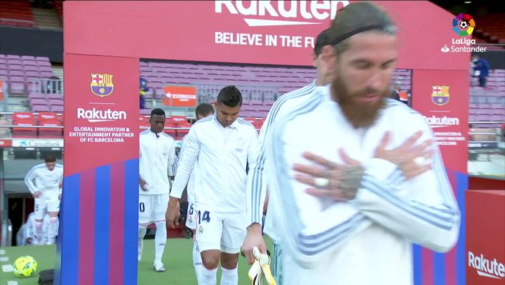 LaLiga (J7): Resumen y goles del Barcelona 1-3 Real Madrid