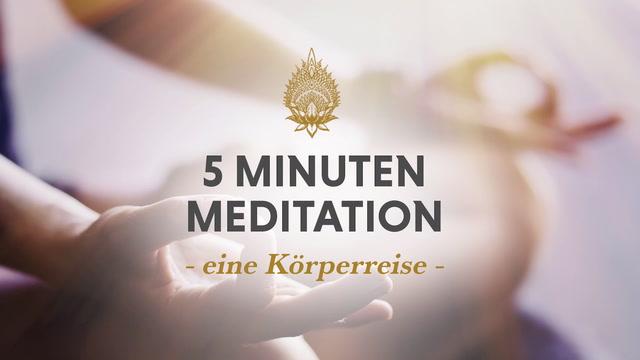 5 Minuten Meditation, Nr 6