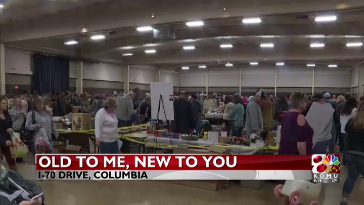 Almost 2,000 people gather for largest indoor garage sale