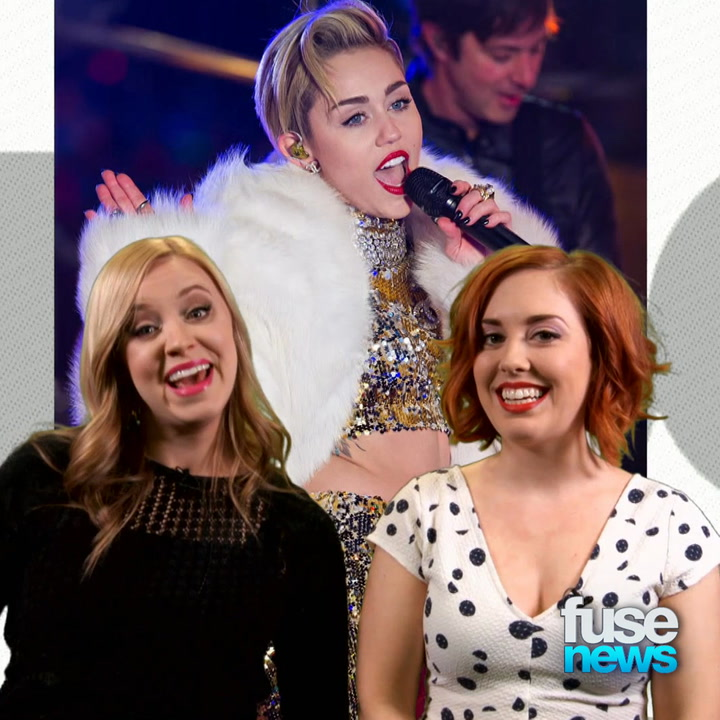 Madonna Joins Miley for MTV Unplugged Performance