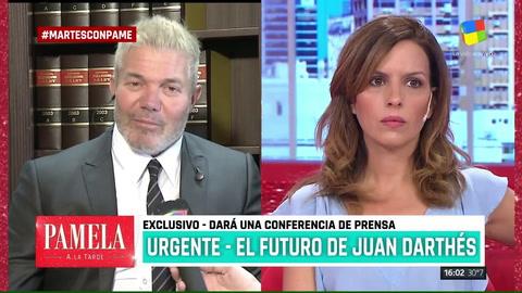 Fernando Burlando sobre el caso Darthés:En las novelas los egos están elevados