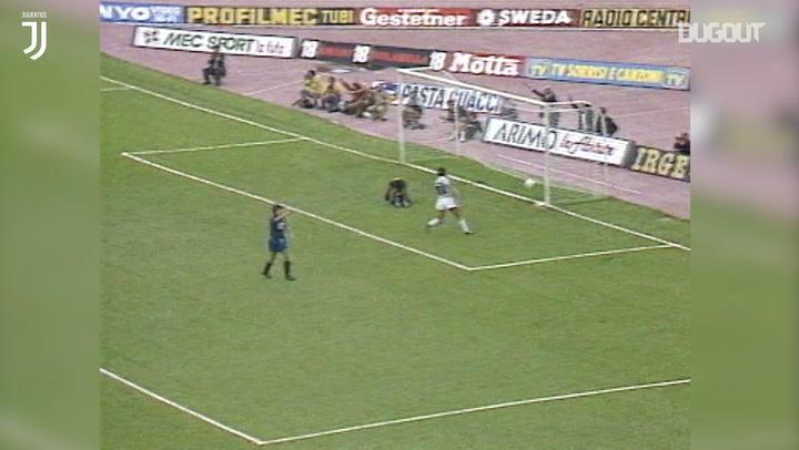Michel Platini'den Atalanta'ya İki Gol