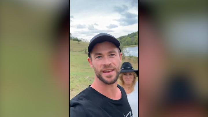 Los hijos de Elsa Pataky y Chris Hemsworth se convierten en ¡auténticos pilotos de carreras!