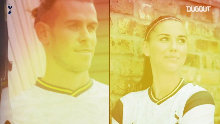Alex Morgan and Gareth Bale: Spurs' big-name summer arrivals
