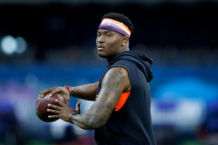If Dwayne Haskins is available, Von Miller wants Broncos to draft him