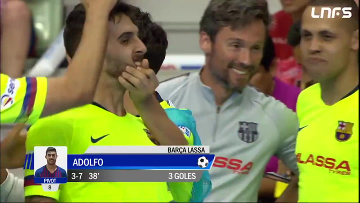 ElPozo Murcia (3) - (7) Barça Lassa. Resumen del 4º partido playoff final