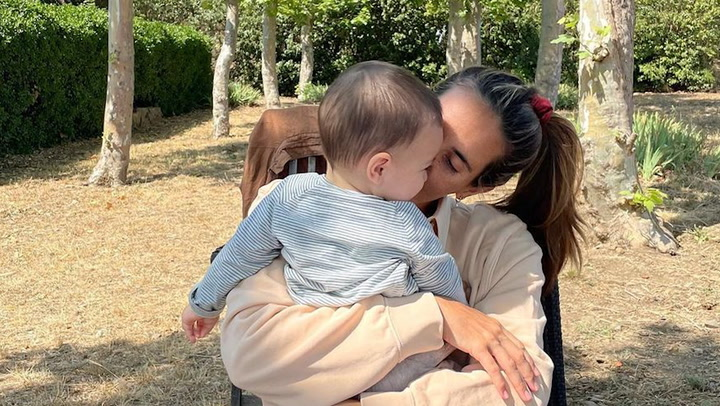 Ona Carbonell felicita desde Tokio a su hijo Kai en su primer cumpleaños con un precioso mensaje