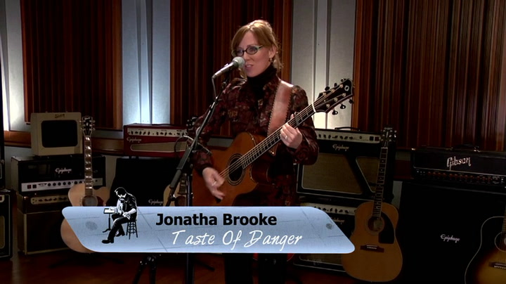 Jonatha Brooke performs Taste Of Danger on The Jimmy Lloyd Songwriter Showcase