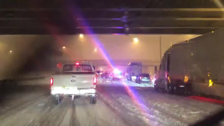 Storm reports: Heavy snow, ice disrupt travel in the mid-Atlantic