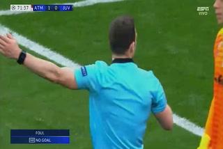 El VAR anula gol a Álvaro Morata por una falta contra Giorgio Chiellini
