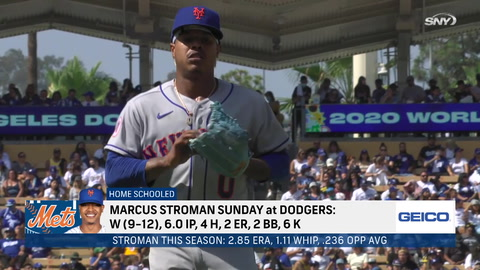 Javier Baez's return, re-signing Marcus Stroman, and the Mets pivotal series vs. Giants