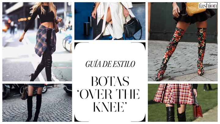 Guía de estilo: botas \'Over the knee\'
