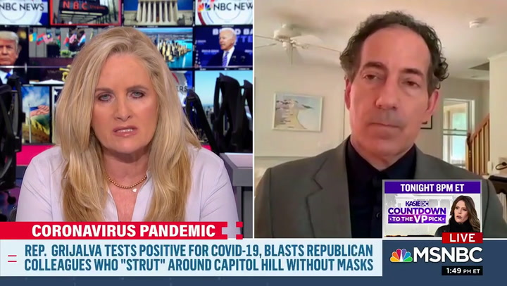 Rep. Raskin: Republican Party Has Turned Into a Trump 'Cult'