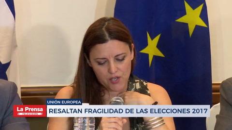 Unión Europea resalta fragilidad en elecciones 2017