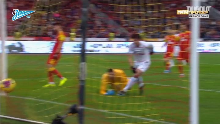 Zenit's best weak-foot goals