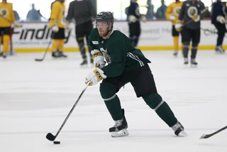 Golden Edge: Knights keeping the intensity up at practice