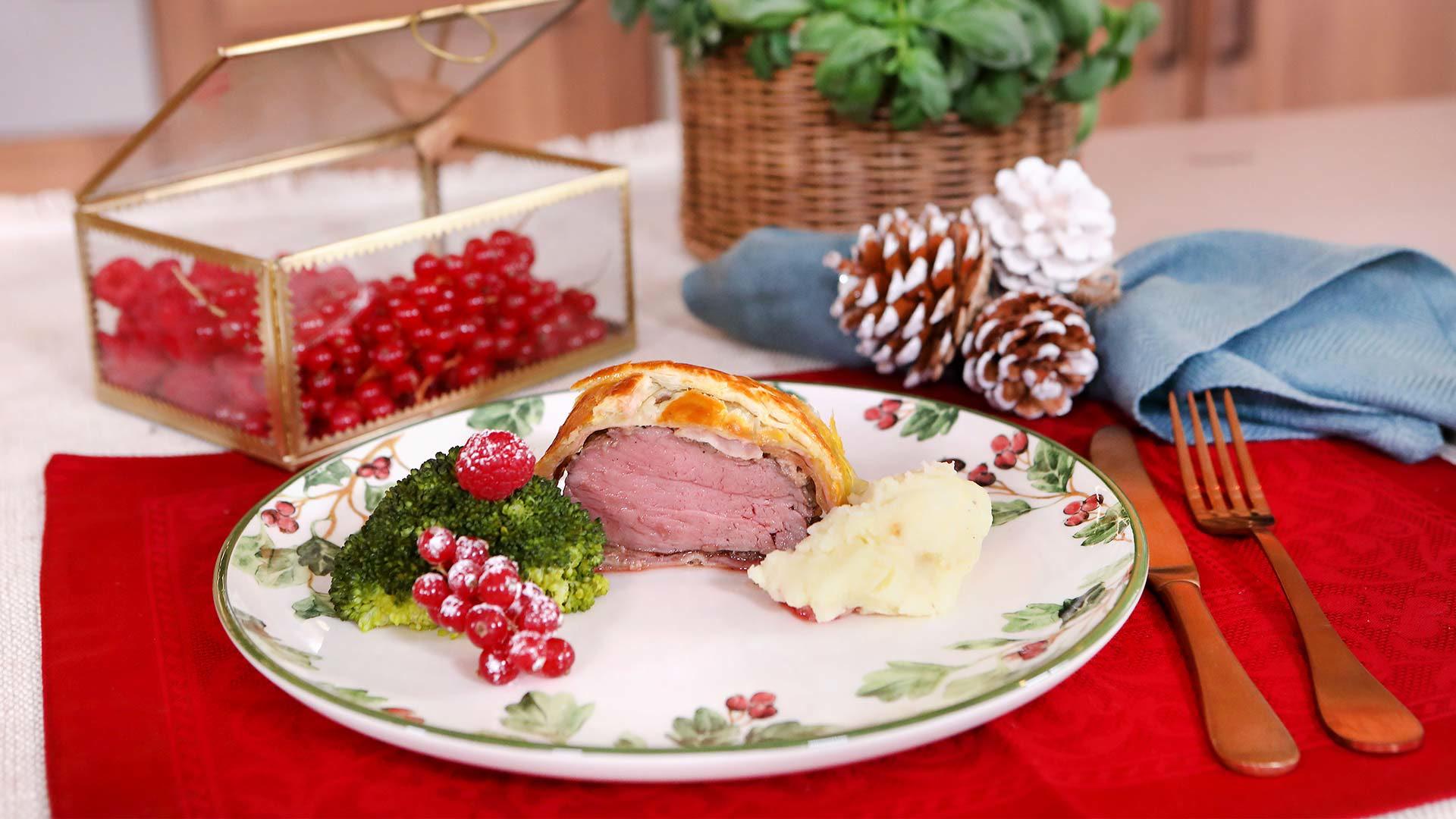 Menú navideño: Ensalada de bogavante, solomillo Wellington y roscón de reyes