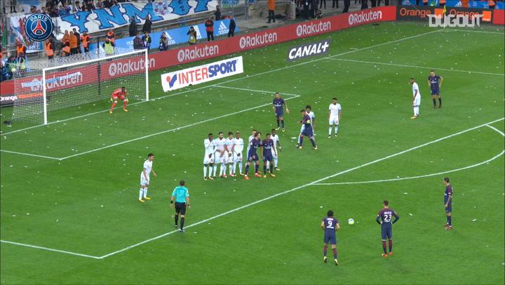 The Moment: Cavani's Last-Gasp Goal In Marseille