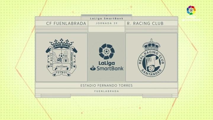 LaLiga smartBank (J39): Resumen y gol del Fuenlabrada 1-0 Racing