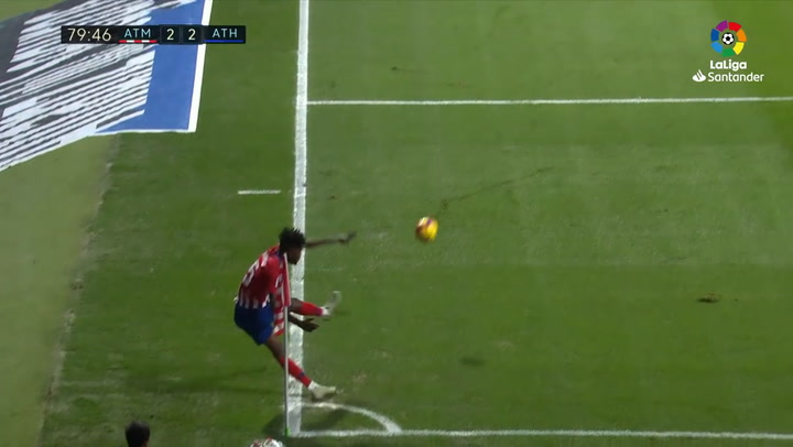 LaLiga: Atlético Madrid - Athletic. Gol de Rodrigo (2-2) (10/11/2018)