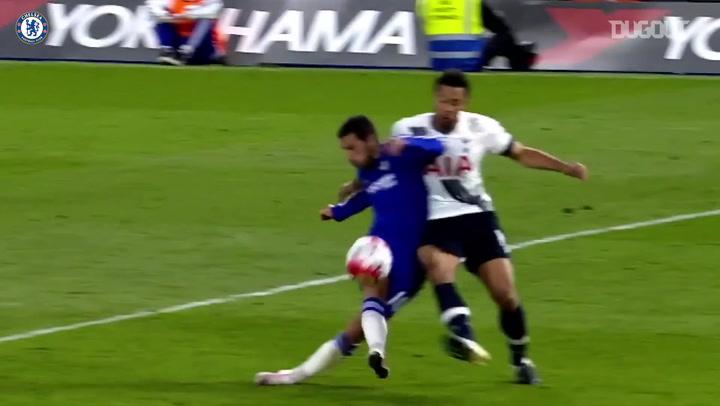 Incredible Goals: Eden Hazard Vs Spurs