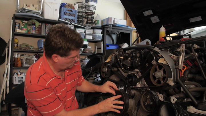 Changing Timing Belt on Audi A8- The American Garage