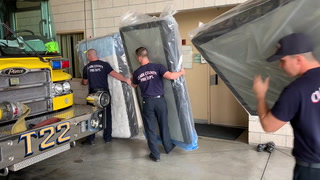 Las Vegas furniture store donates to Clark County firehouses