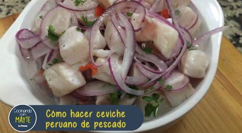 Cómo hacer ceviche peruano de pescado