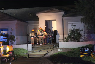House fire displaces 2 people