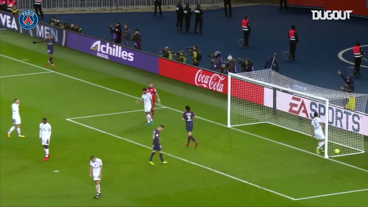 All Kylian Mbappé goals against Dijon
