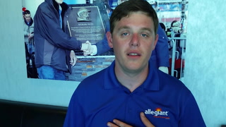 Spencer Gallagher talks about running at LVMS
