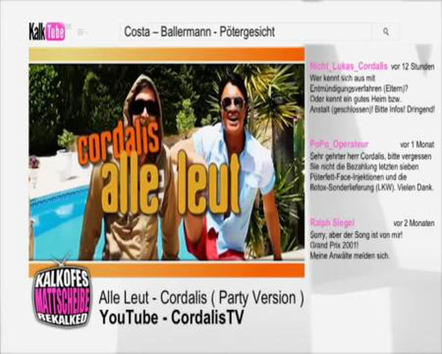 Costa Cordalis - Alle Leut