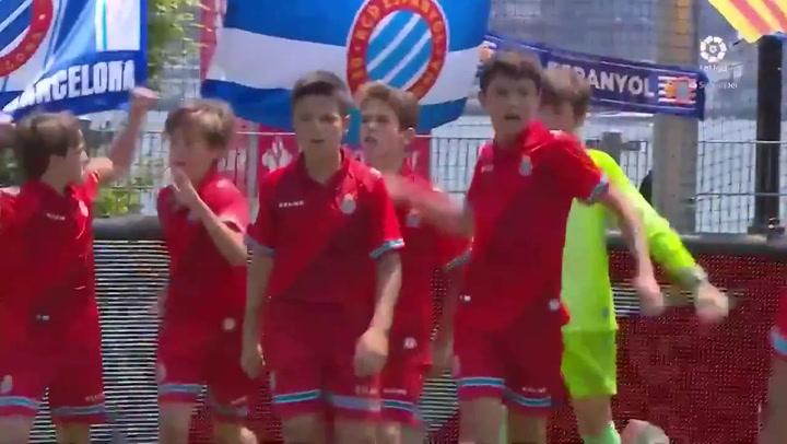 LaLiga Promises: El Espanyol pasa a semifinales tras ganar al Betis en la tanda de penaltis
