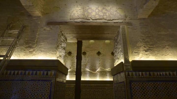 Descubren un baño árabe del siglo XII en un bar de Sevilla