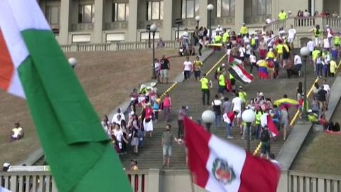 Un total de 27.037 peregrinos y voluntarios han llegado a Panamá para la JMJ