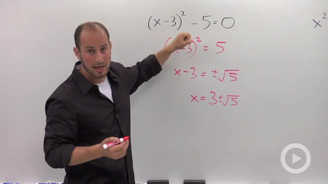 Solving a Quadratic by Completing the Square - Concept