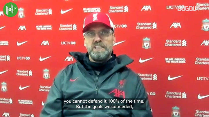 Klopp: 'We didn't struggle defensively its just the way Leeds play'