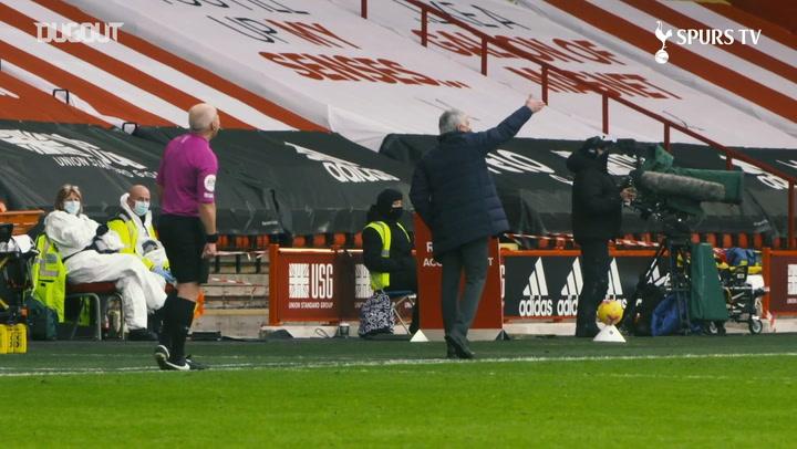 Những khoảnh khắc ấn tượng nhất của Mourinho trước Sheffield United (Tháng 1/2021)