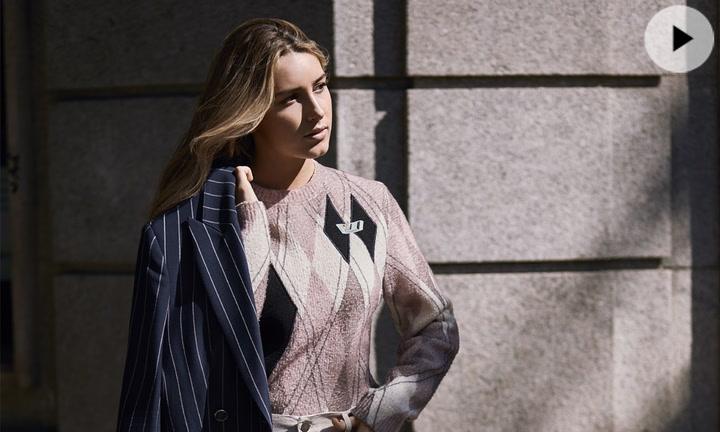 Daniela Svedin Figo debuta como modelo en la revista Fashion