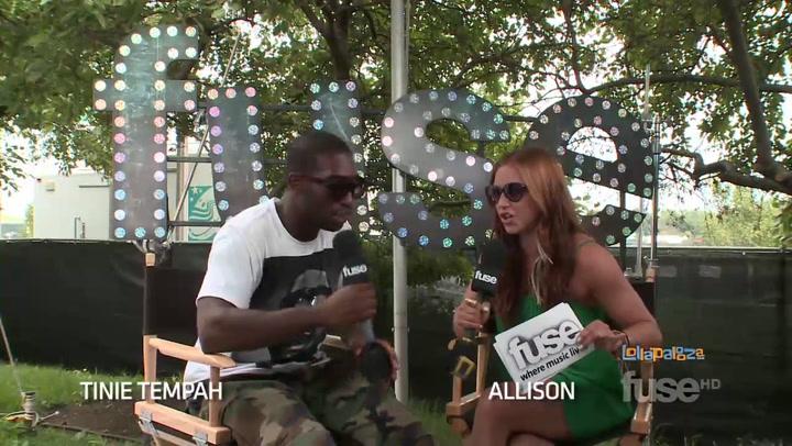 Festivals:Lollapalooza: Is an Adele Duet in Tinie Tempah's Future? - Lollapalooza 2011