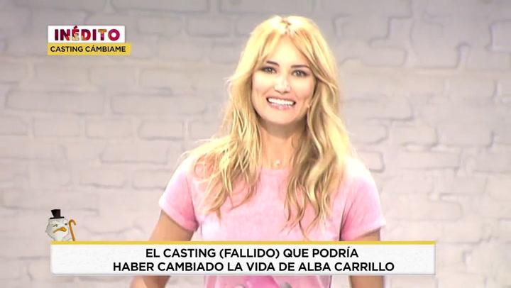 María Patiño puntúa con un 0'5 el desastroso casting de Alba Carrillo para 'Cámbiame'