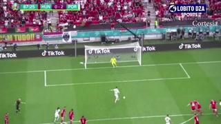 Así fue el gol de penal de Cristiano a la selección de Hungría
