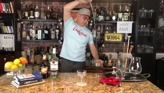 Bartender Julio Cabrera Shakes and Serenades