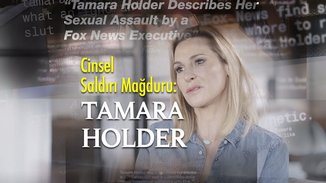 Cinsel saldırı mağduru, sunucu Tamara Holder
