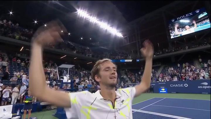 Daniil Medvedev trolea con descaro a la afición del US Open