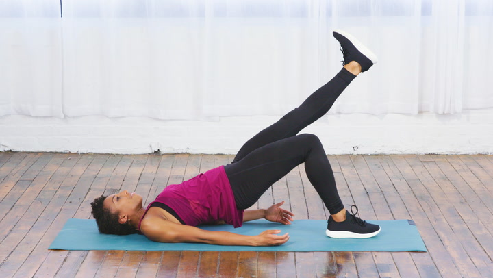 Watch Now: Single Leg Bridge Exercise for Butt and Core